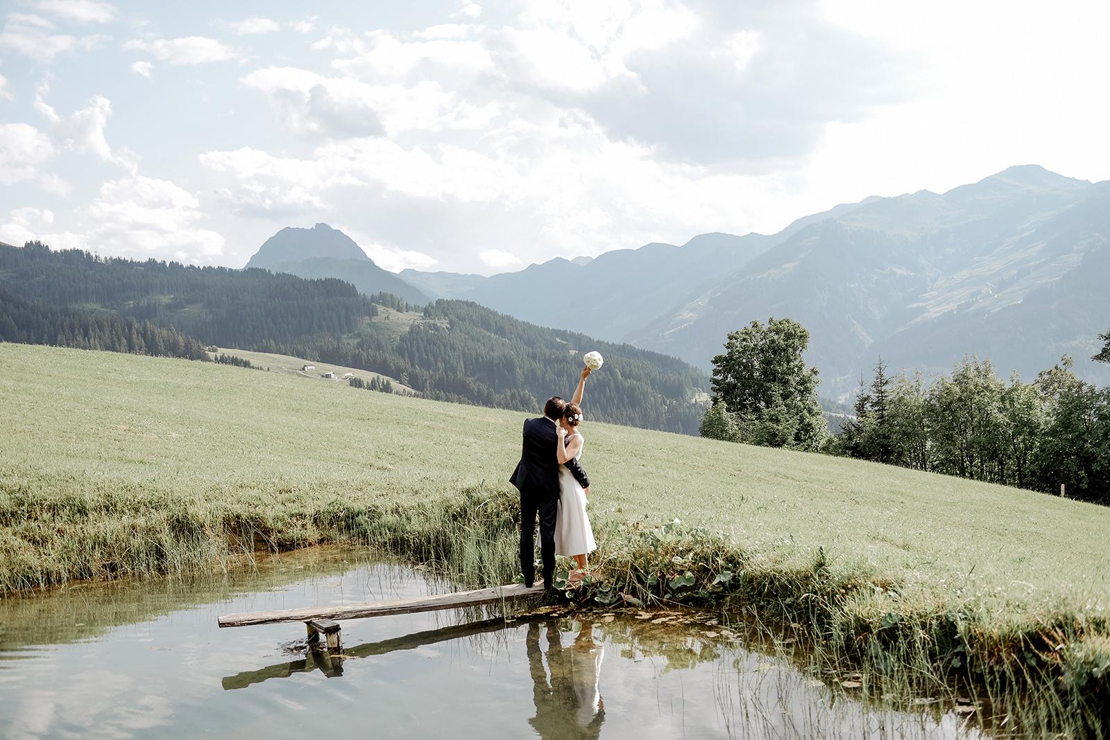Berghochzeit in Tirol