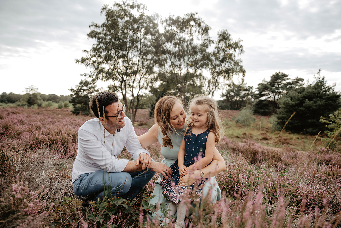 Familienshooting in Holland