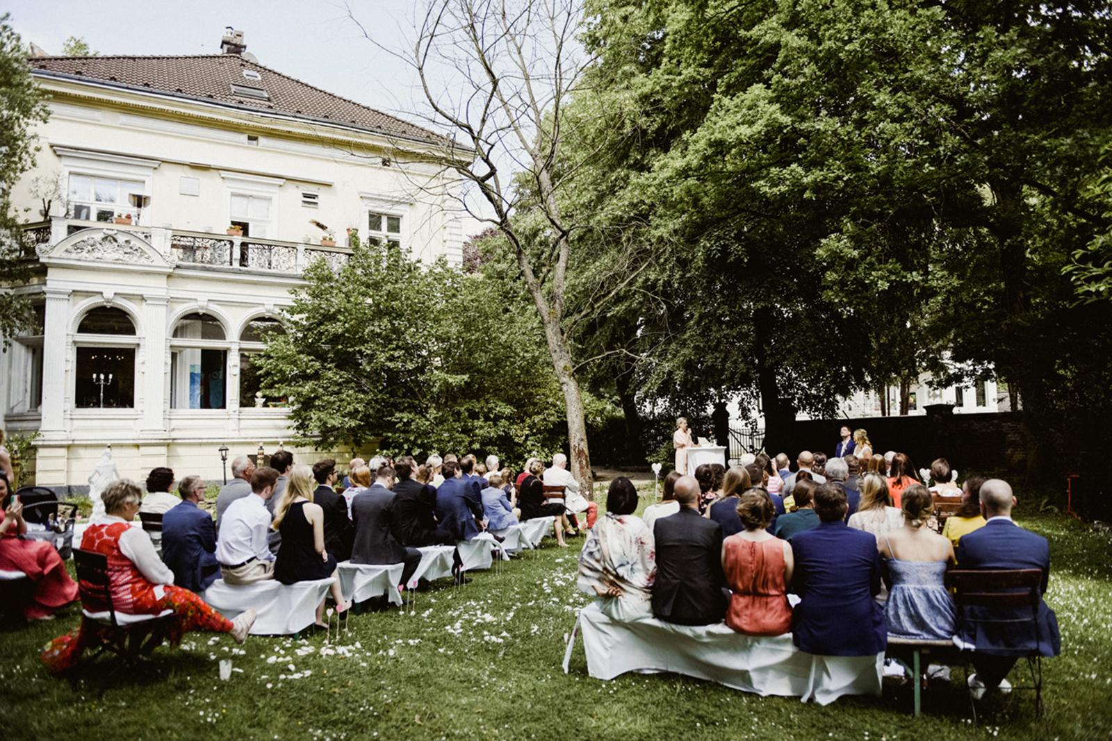 Freie Trauung in der Villa Au in Velbert