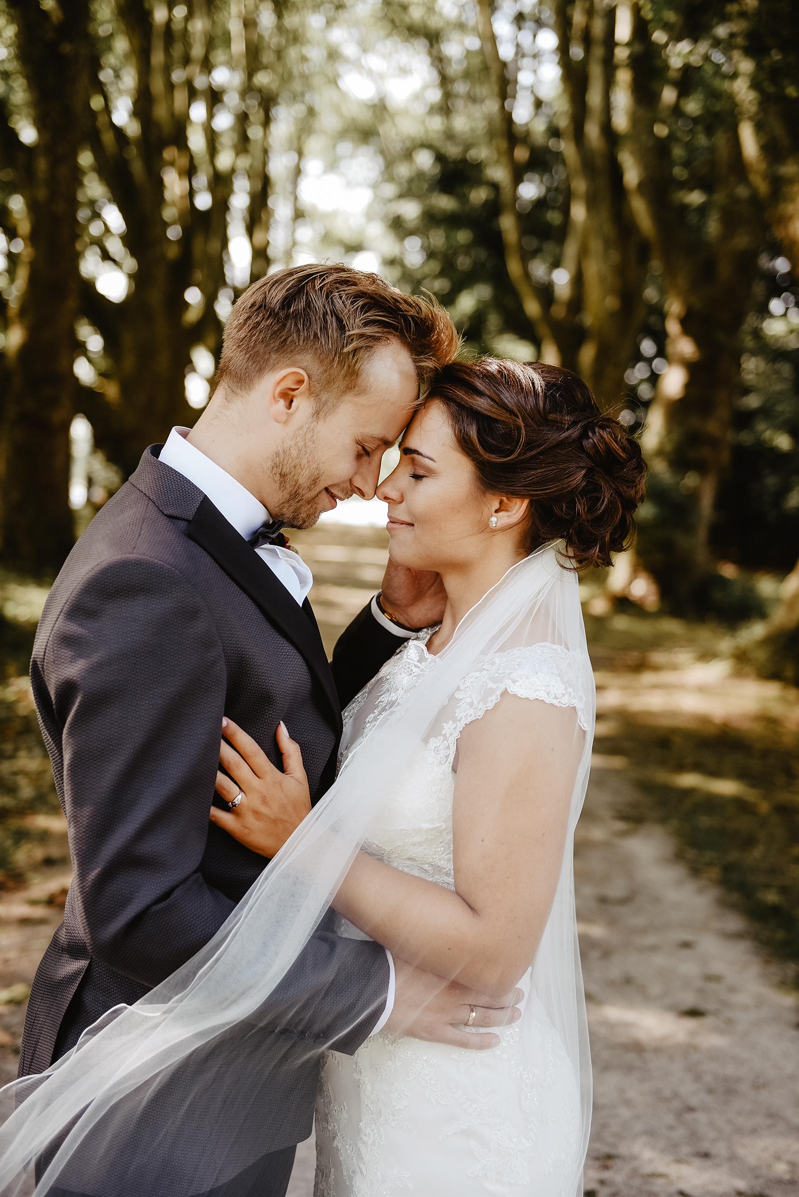 A & M bei ihrem Brautpaarshooting