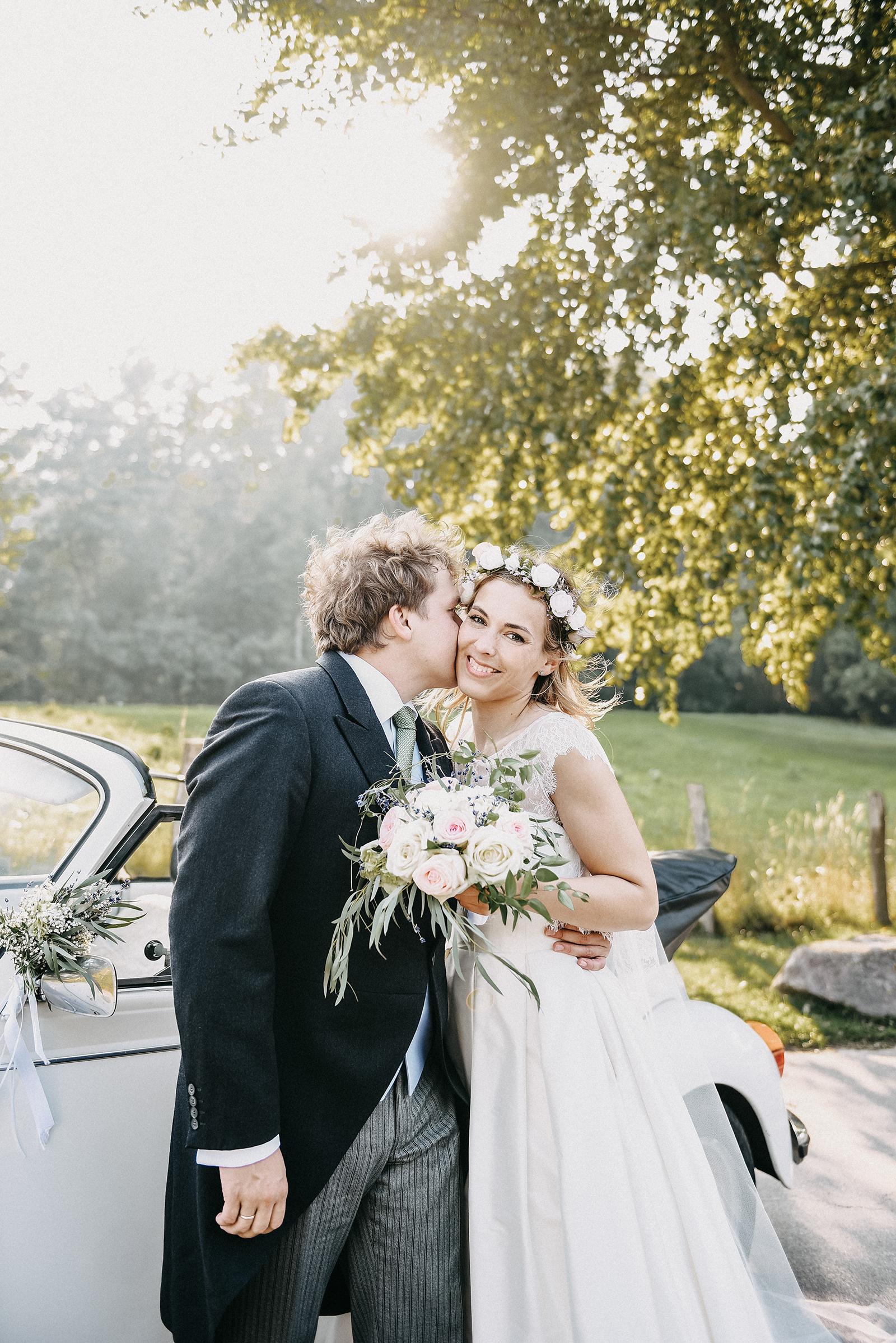 C & C bei ihrem Brautpaarshooting an der Ostsee