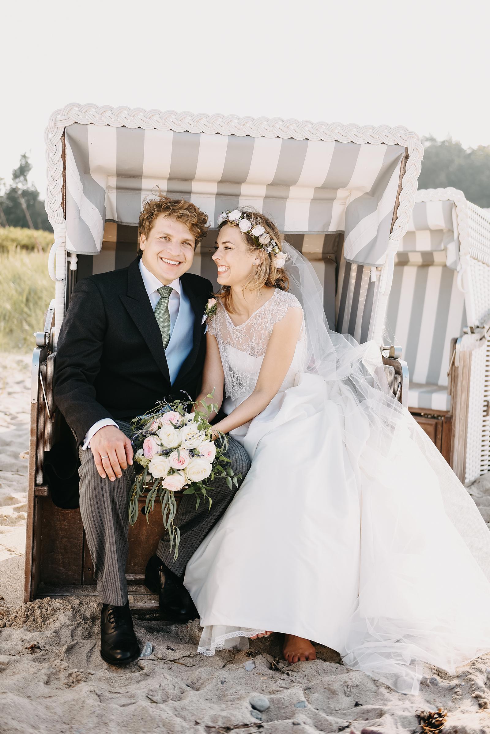 Hochzeitsreportage von Chrissy & Christoph an der Ostsee