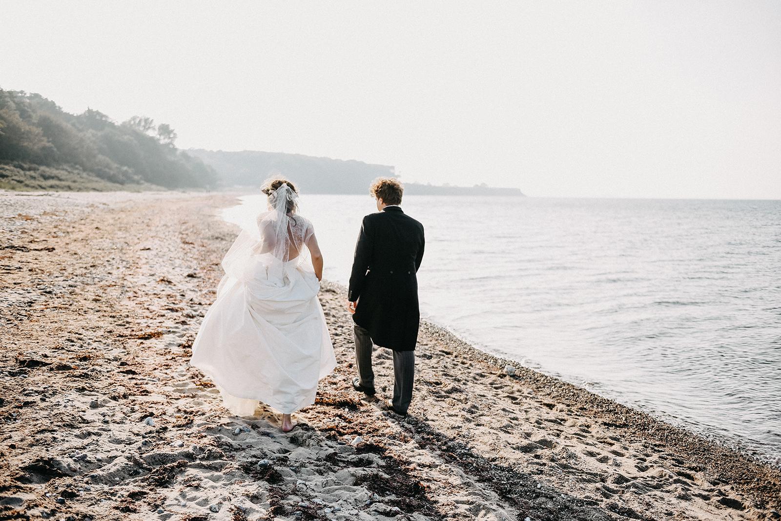 Spontaner Schnappschuss beim Brautpaarshooting von I & M
