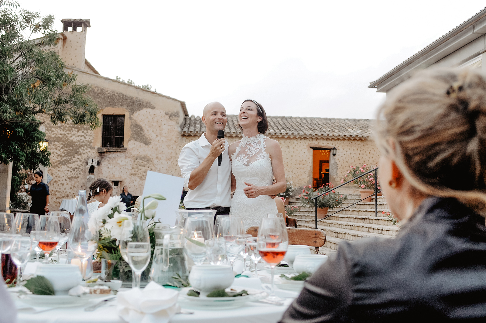 Mediterrane Hochzeit auf Mallorca