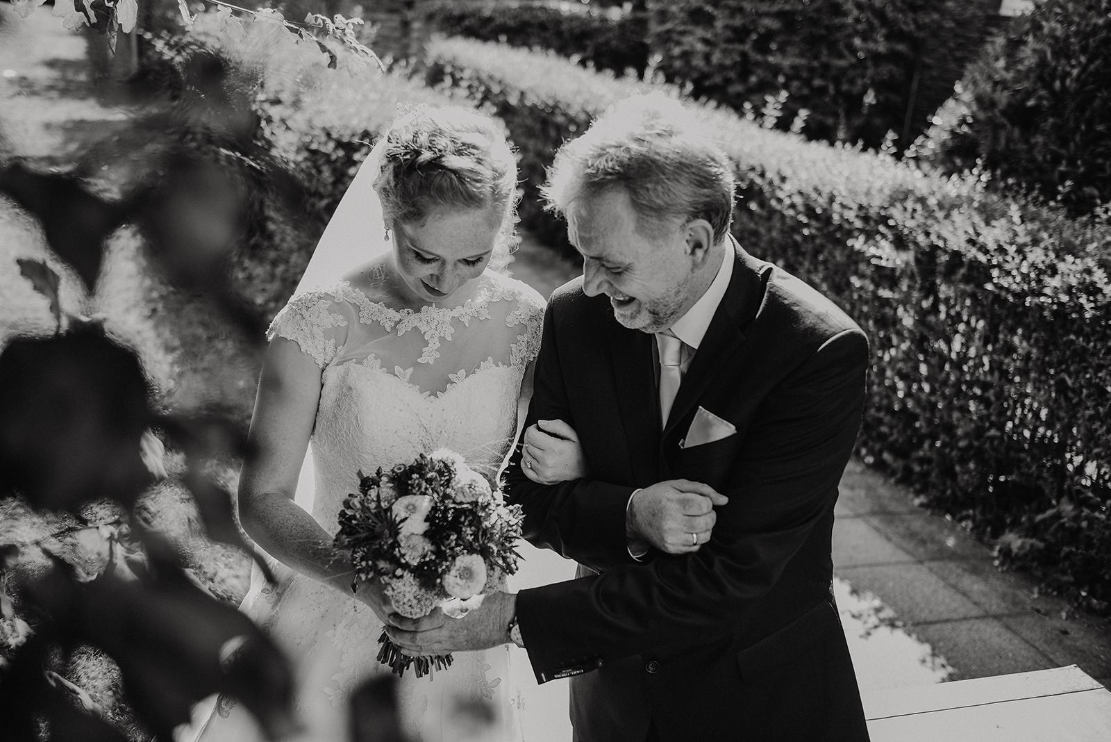 Braut & Brautvater - ein einzigartiger Moment