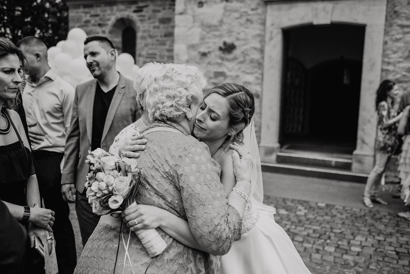Emotionale Momente bei der Hochzeitsreportage von Melanie & Andre