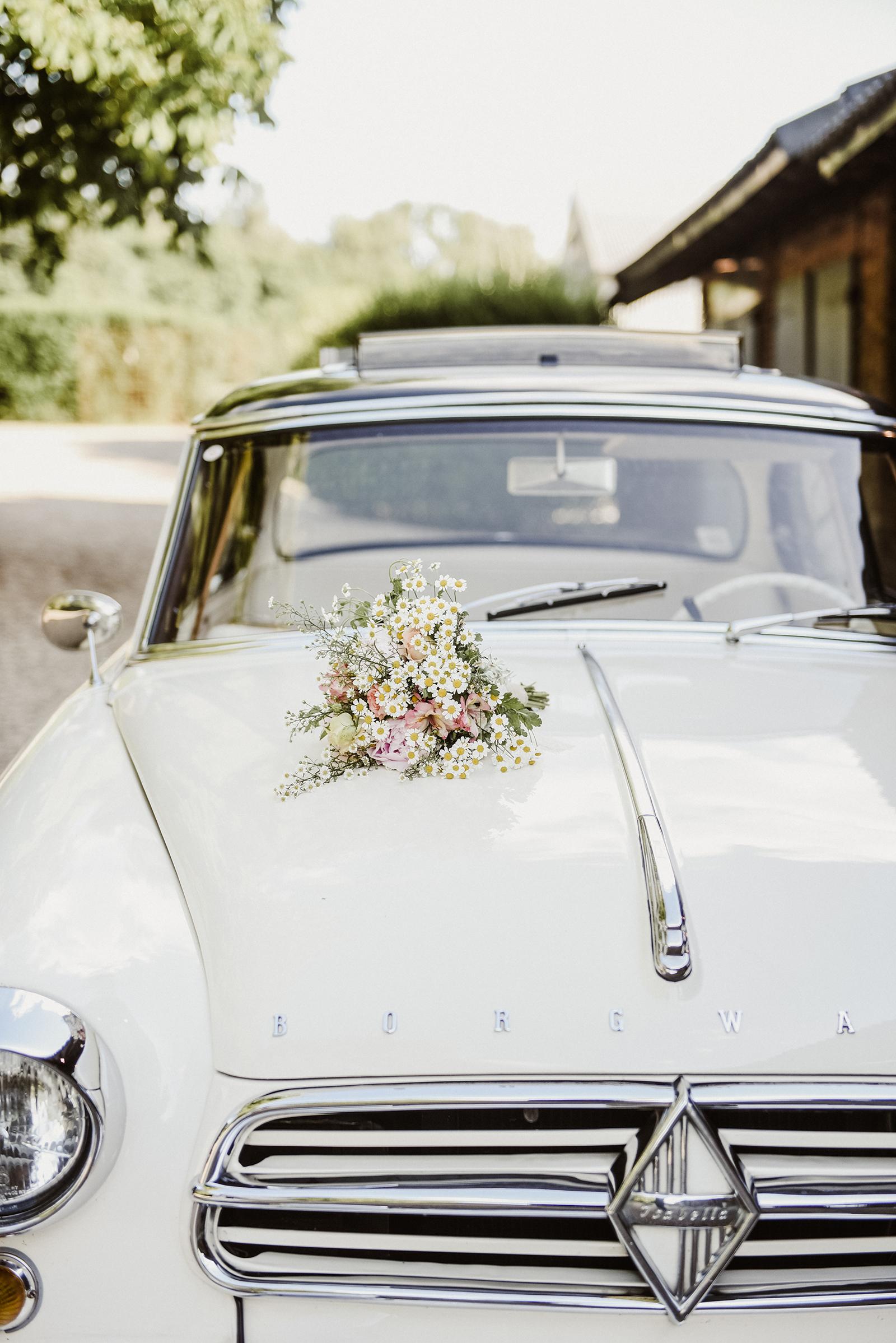 Wunderschöner Brautstrauss - Detailshot