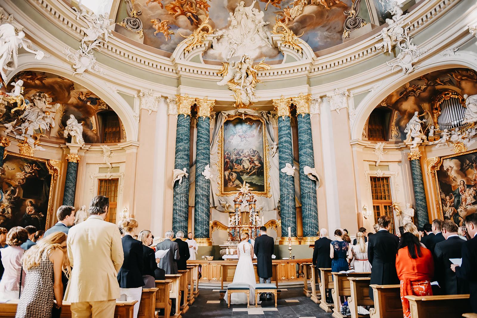 Trauung in der atemberaubenden Clemenskirche in Münster