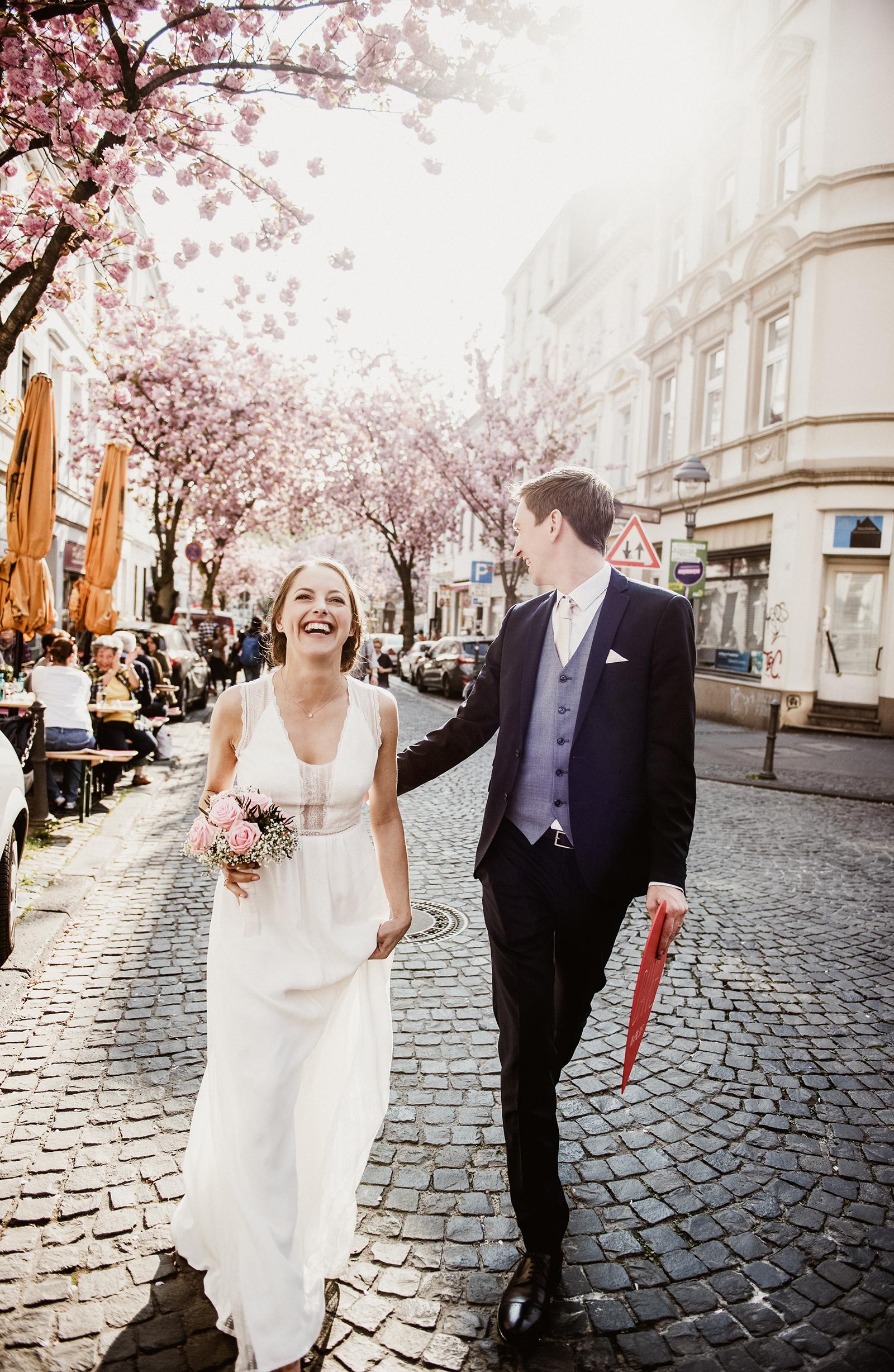 Hochzeitsreportage von Anna und Philip in Bonn