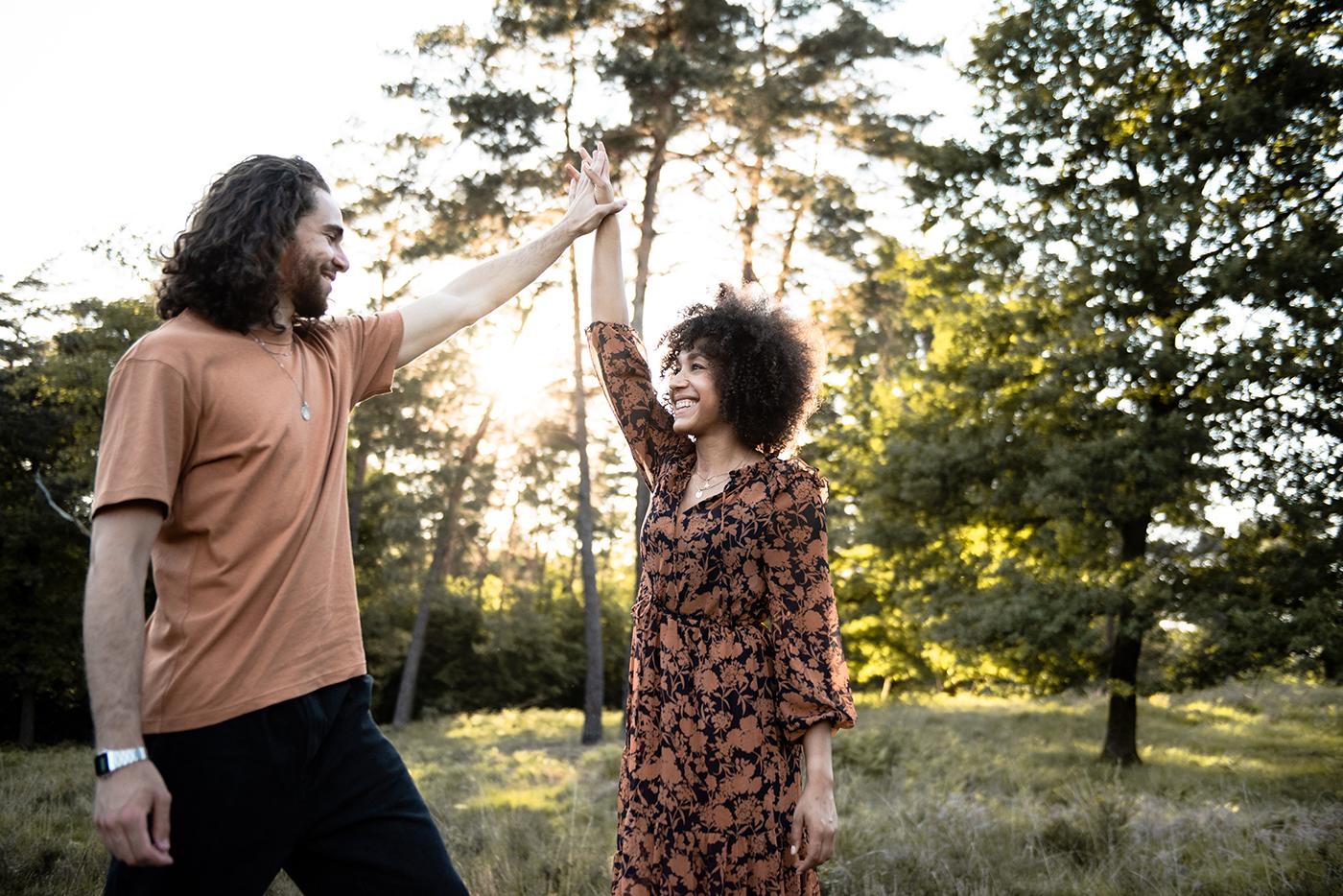 Sunsetshooting mit Simone & Miguel in der Wahner Heide
