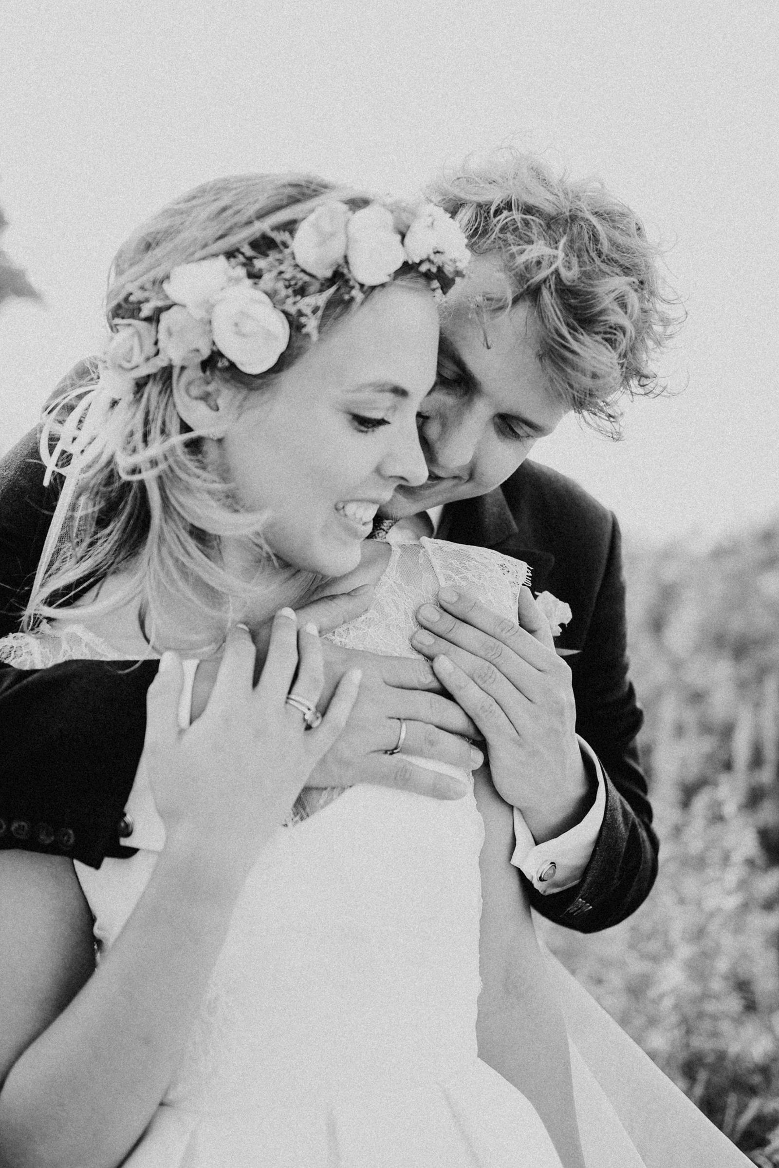 Hochzeitsreportage und Paarshooting in Weissenhaus an der Ostsee